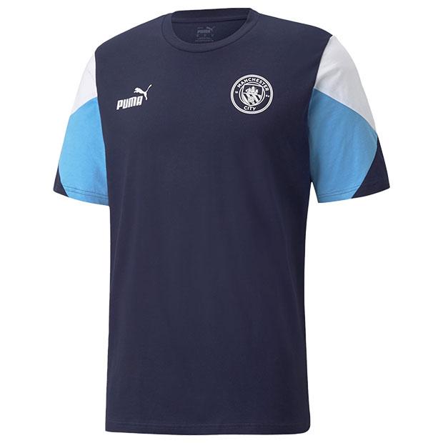 マンチェスターシティ FTBLCULTURE 半袖Tシャツ  764525-03 ピーコート