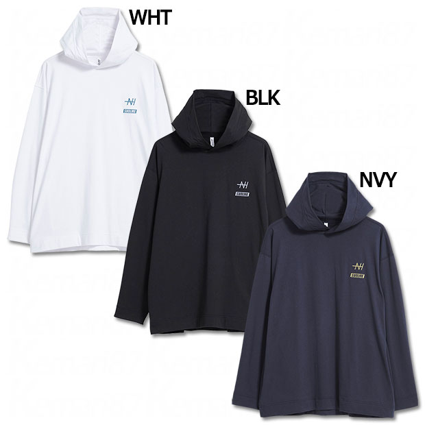 NT TC デカフーディロングTシャツ  8213-20010