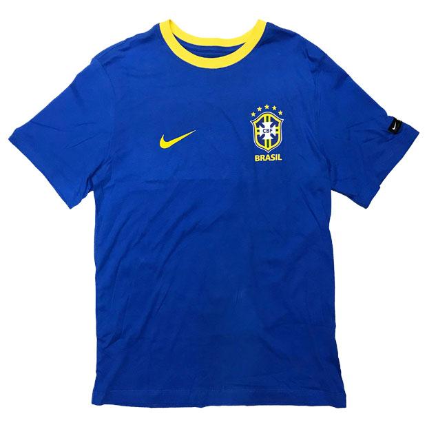 ブラジル代表 CREST 半袖Tシャツ  888320-403 シグナルブルー