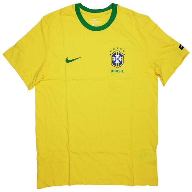 ブラジル代表 CREST 半袖Tシャツ  888320-749 ミッドウエストゴールド