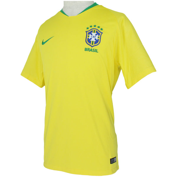 ブラジル代表 2018 ホーム 半袖レプリカユニフォーム  893856-749