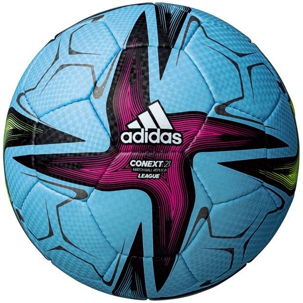 FIFA2021(仮称) リーグ 公式試合球レプリカ  af434sk スカイブルー