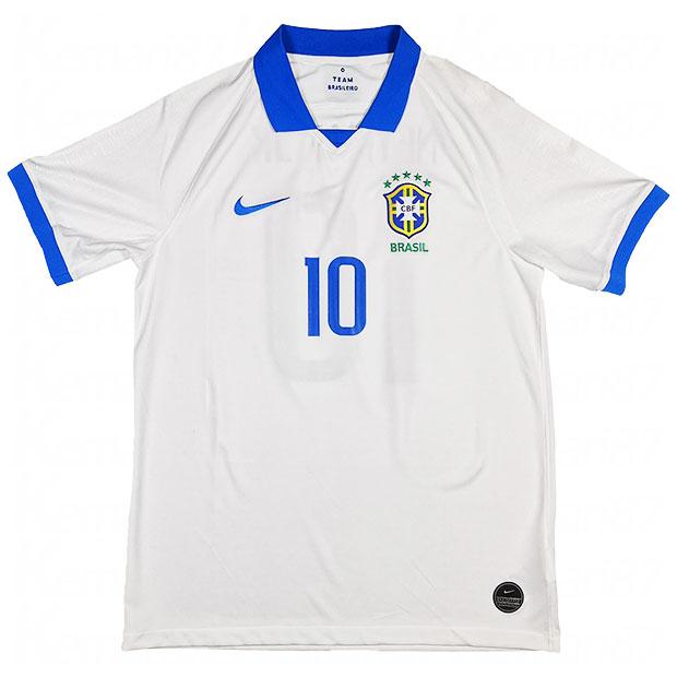 ブラジル代表 2019 コパ アウェイ/3rd 半袖レプリカユニフォーム 10.ネイマール aj5026-100-10-n