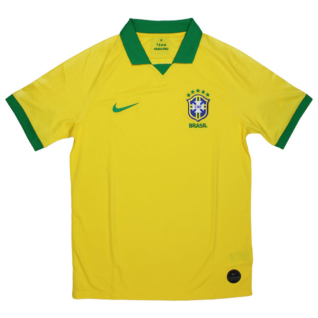 ブラジル代表 2019 ホーム 半袖レプリカユニフォーム  aj5026-750