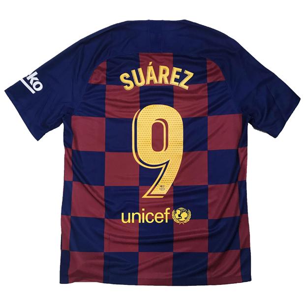 FCバルセロナ 19-20 ホーム 半袖レプリカユニフォーム 9.スアレス aj5532-456-9-s