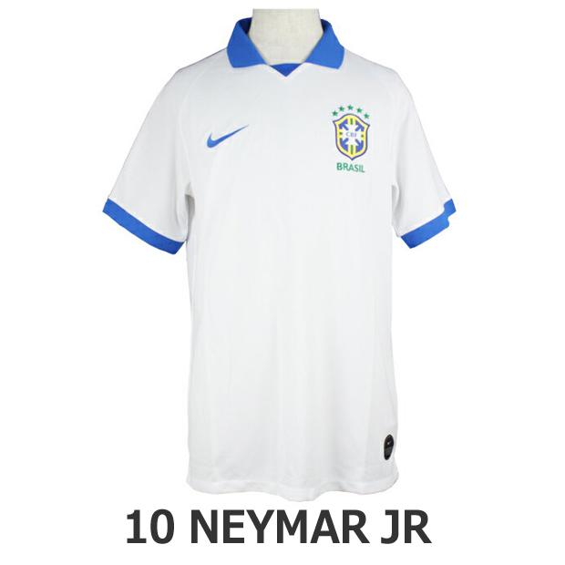 ジュニア ブラジル代表 2019 コパ アウェイ/3rd 半袖レプリカユニフォーム 10.ネイマール aq3852-100-10-n