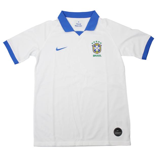 ジュニア ブラジル代表 2019 コパ アウェイ/3rd 半袖レプリカユニフォーム  aq3852-100