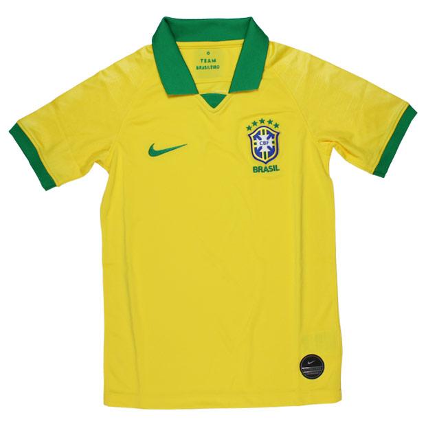 ジュニア ブラジル代表 2019 ホーム 半袖レプリカユニフォーム  aq3852-749