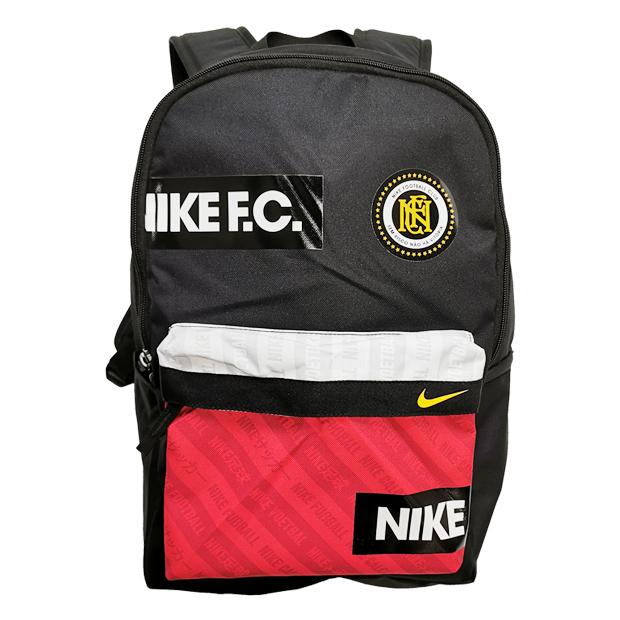 NIKE F.C. バックパック  ba6159-010 ブラック×ユニバーシティレッド
