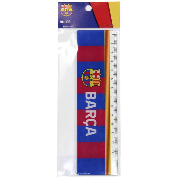 FCバルセロナ 定規  bcn34170 ブルー×レッド