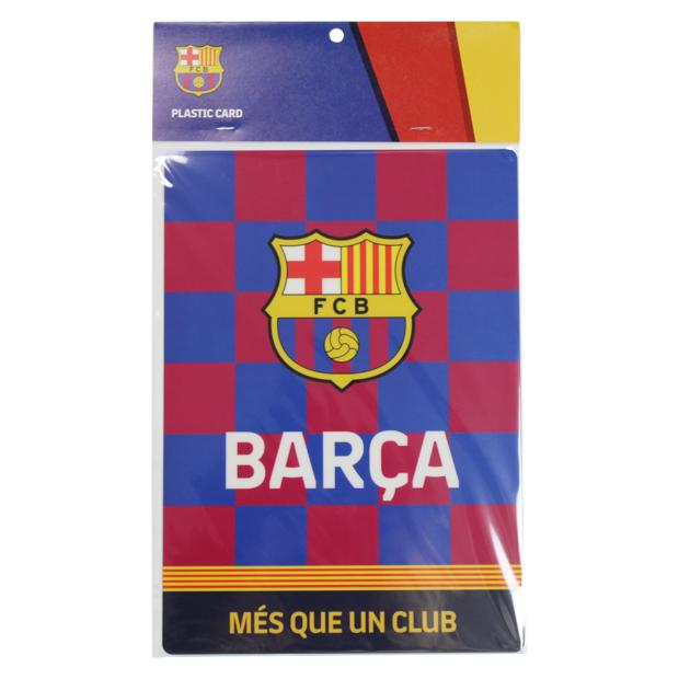 FCバルセロナ 下敷き  bcn34171 ブルー×レッド