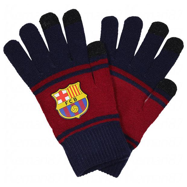 FCバルセロナ スマホ対応手袋  bcn34376