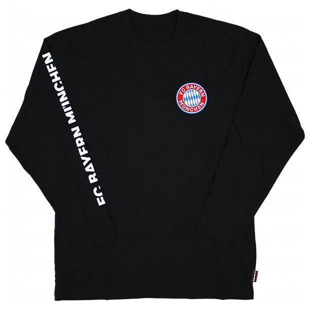バイエルンミュンヘン 長袖Tシャツ  bl03-bm-1f02-blk ブラック