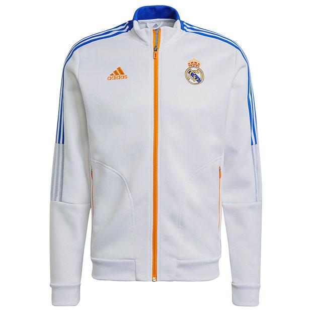 レアルマドリッド アンセムジャケット  bq103-gr4270 ホワイト