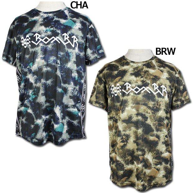 グラフィックメッシュプラクティスTシャツ  br0201