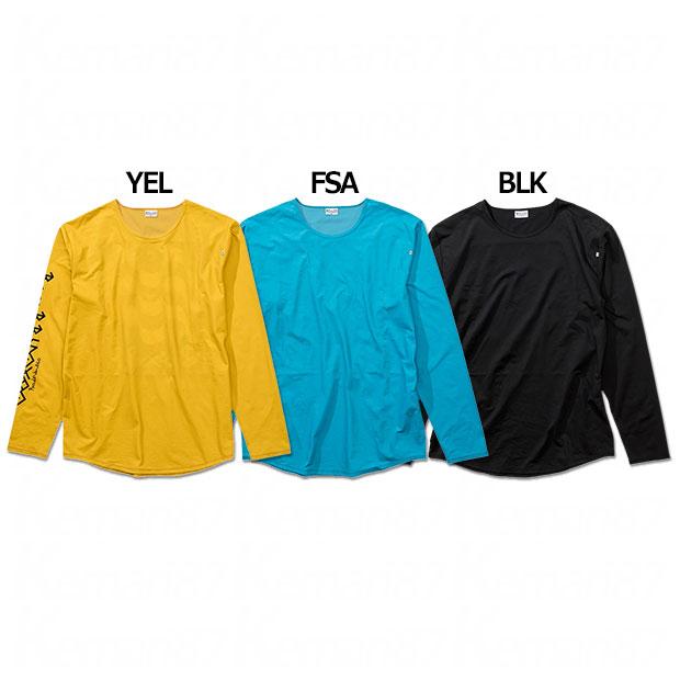 パネルロゴプラ長袖Tシャツ  br0212