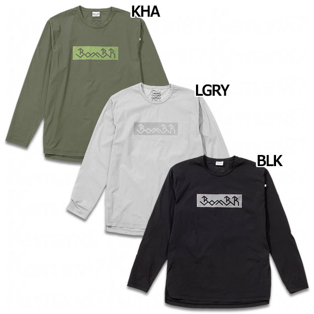 BomBR ボンライト 長袖プラクティスTシャツ  br0235