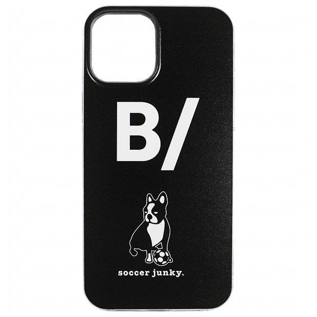愛しさと切なさと心強さ犬+1 iPhone12用ケース  bs21a09-blk ブラック