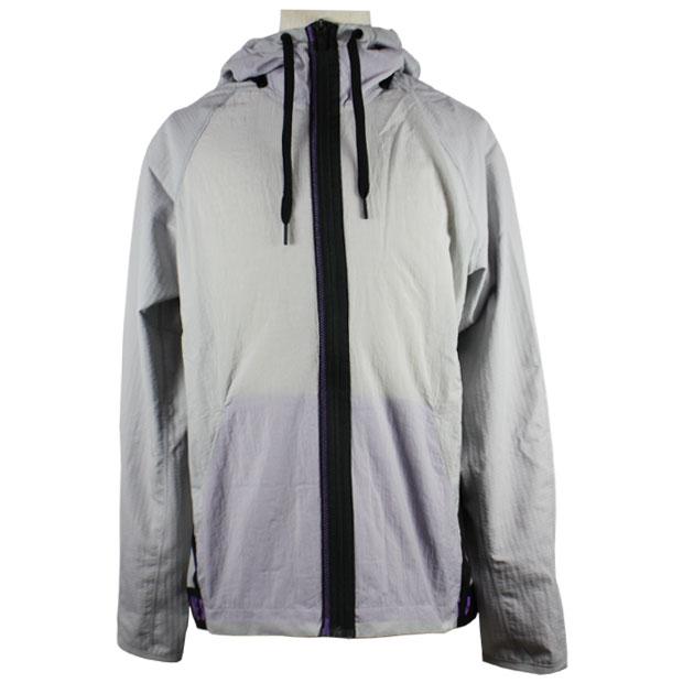 フレックス フルジップトレーニングジャケット  bv3304-077 ライトスモークグレー