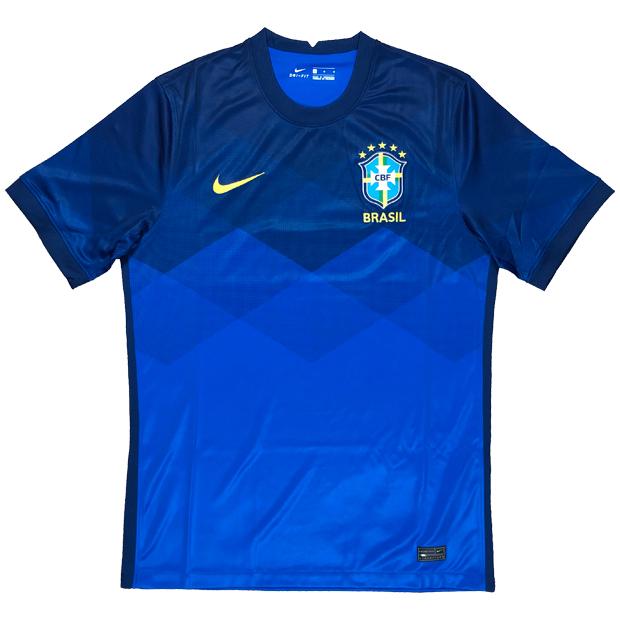 ブラジル代表 2020 アウェイ 半袖レプリカユニフォーム  cd0688-427