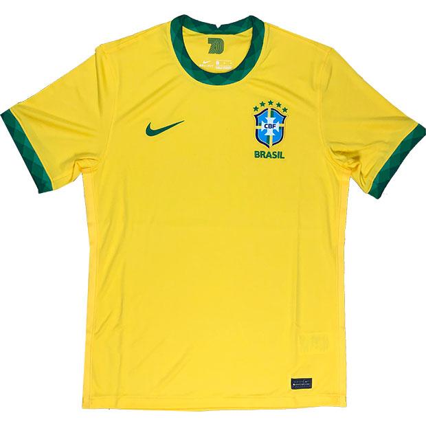 ブラジル代表 2020 ホーム 半袖レプリカユニフォーム  cd0689-749