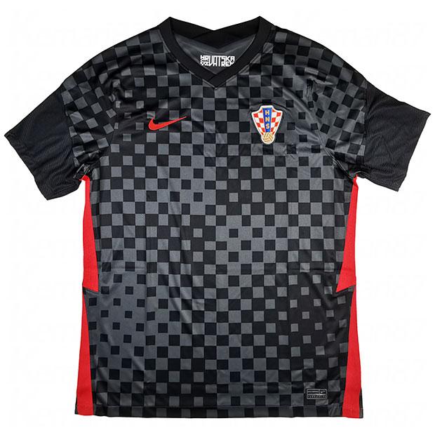 クロアチア代表 2020 アウェイ 半袖レプリカユニフォーム  cd0694-060