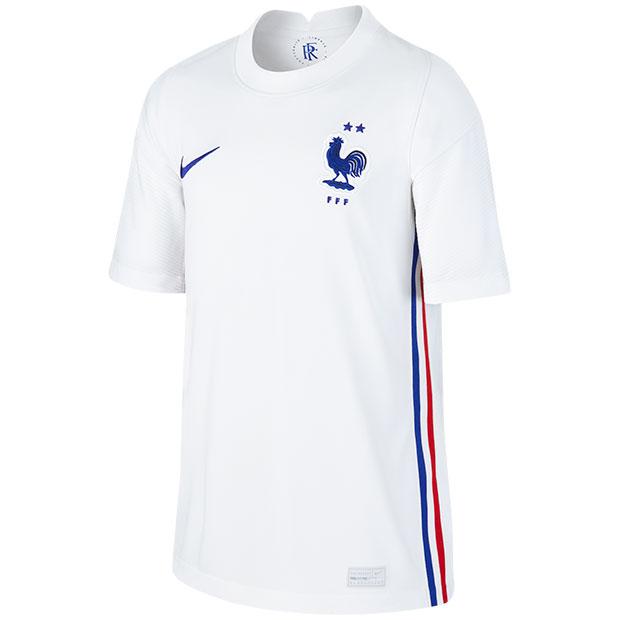 ジュニア フランス代表 2020 アウェイ 半袖レプリカユニフォーム  cd1034-100