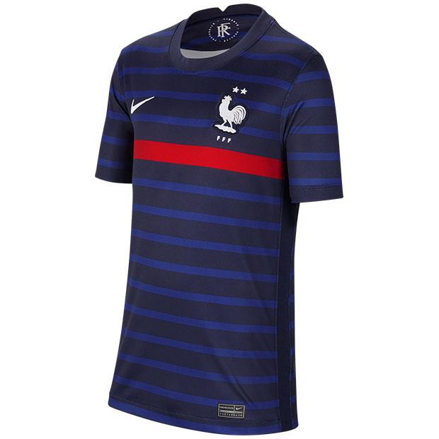 ジュニア フランス代表 2020 ホーム 半袖レプリカユニフォーム  cd1036-498