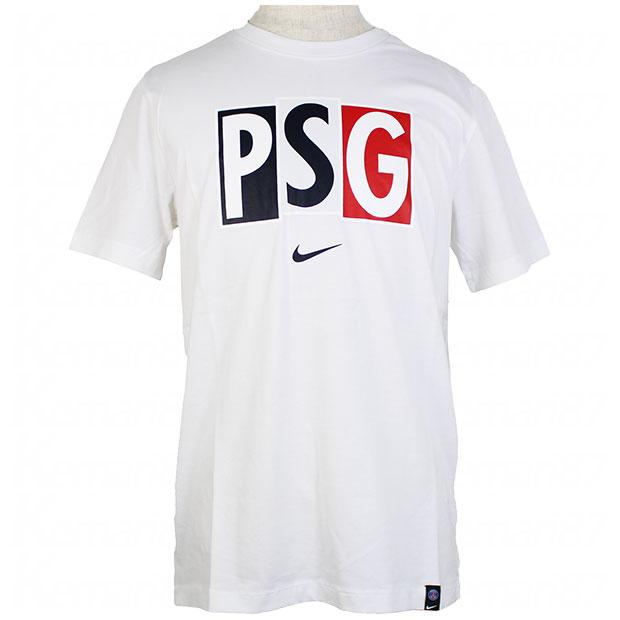 パリサンジェルマン ヴォイス 半袖Tシャツ  cd1193-100 ホワイト