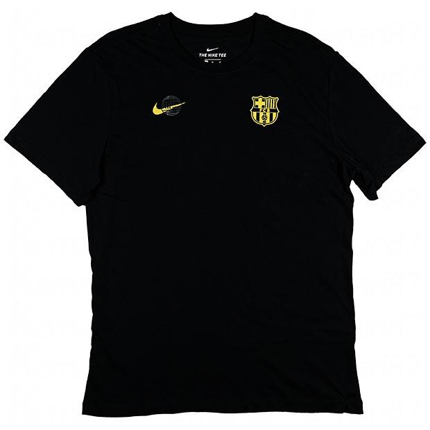 FCバルセロナ DRI-FIT コア マッチ 半袖シャツ  cd1224-010 ブラック