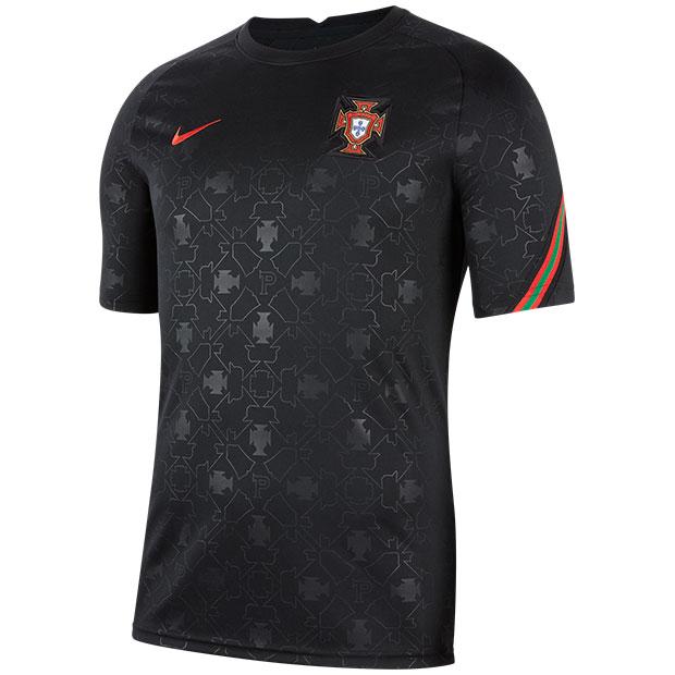 ポルトガル代表 半袖プレマッチトップ  cd2579-010 ブラック