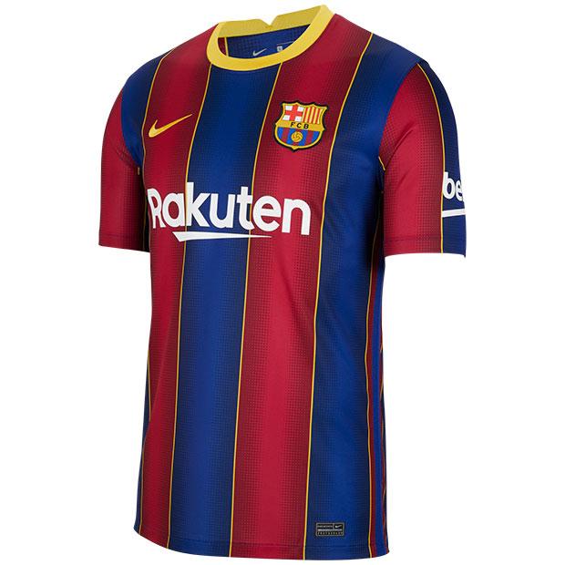 FCバルセロナ 20-21 ホーム 半袖レプリカユニフォーム  cd4232-456
