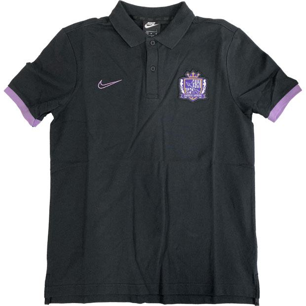 サンフレッチェ広島 CRE 半袖ポロシャツ PQ  ci4601-010 ブラック
