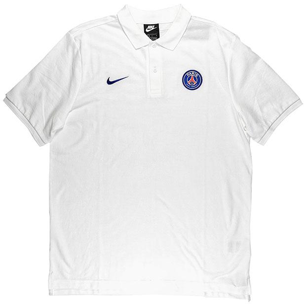 パリサンジェルマン PQ クルー 半袖ポロシャツ  ci9550-100 ホワイト