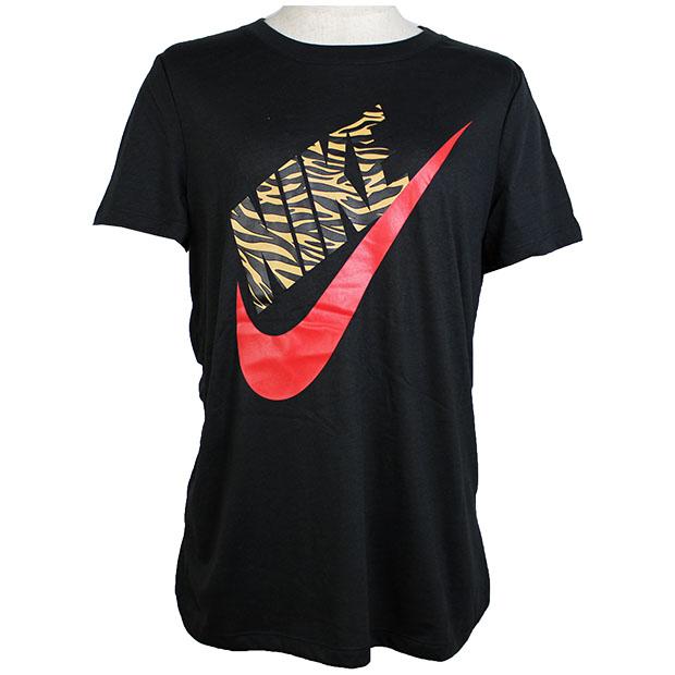 レディース プレップ フューチュラ 半袖Tシャツ  ck4362-010 ブラック