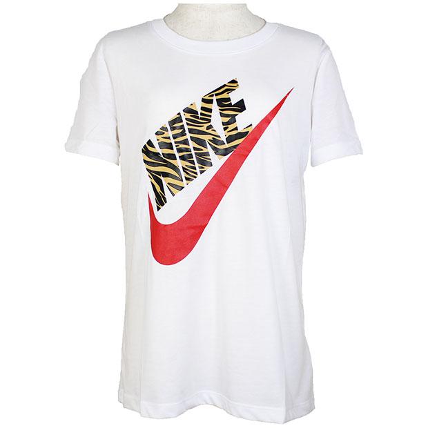 レディース プレップ フューチュラ 半袖Tシャツ  ck4362-100 ホワイト