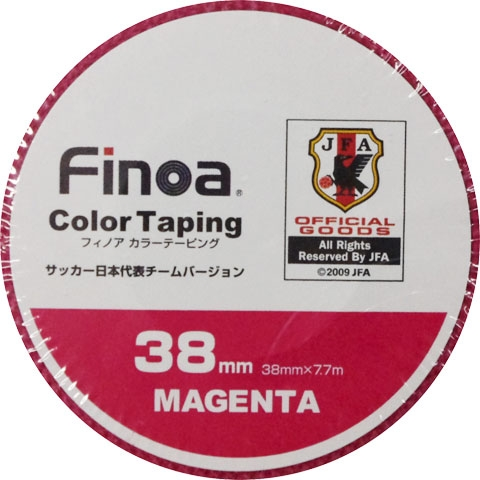 カラーテーピング 38mm  colortaping-1662 マゼンタ
