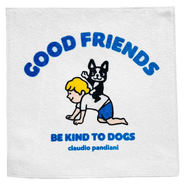 GOOD FRIENDS2 オーガニックコットン ハンドタオル  cp21468