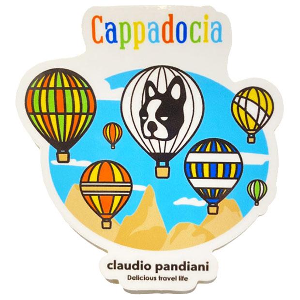 カッパンディアーニドキア ステッカー  cp21a19