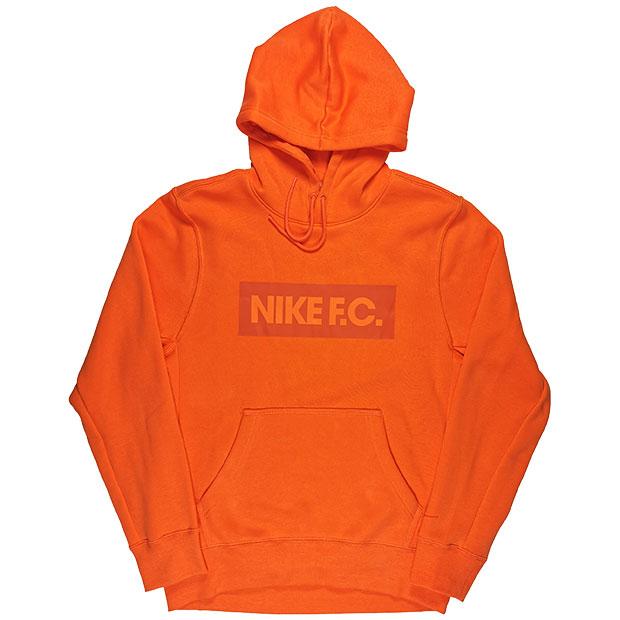 NIKE F.C. エッセンシャル フリースプルオーバーフーディ  ct2012-837 エレクトロオレンジ