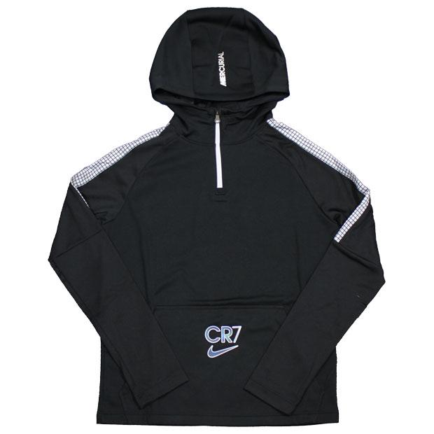 ジュニア YTH CR7 ドリルフーディ  ct2972-010 ブラック