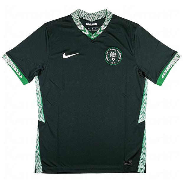 ナイジェリア代表 2020 アウェイ 半袖レプリカユニフォーム  ct4224-364
