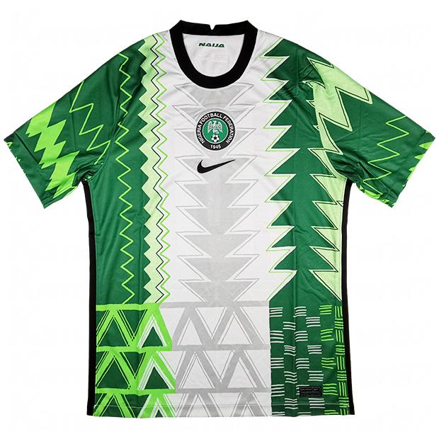 ナイジェリア代表 2020 ホーム 半袖レプリカユニフォーム  ct4225-100