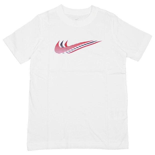 ジュニア YTH トリプルスウッシュ 半袖Tシャツ  cu4572-100 ホワイト