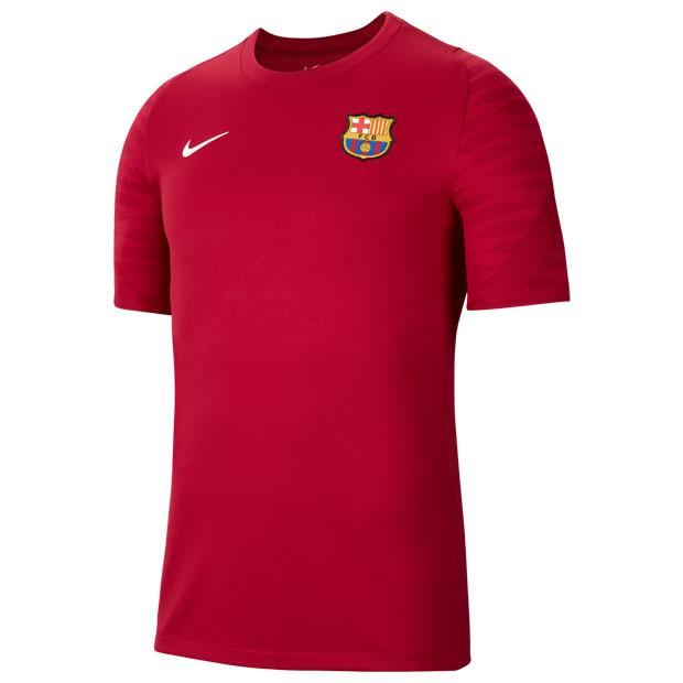 FCバルセロナ ストライク 半袖トップ  cw1845-621 ノーブルレッド