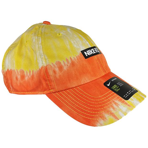 NIKE F.C. H86 タイダイキャップ  cw6944-837 エレクトロオレンジ