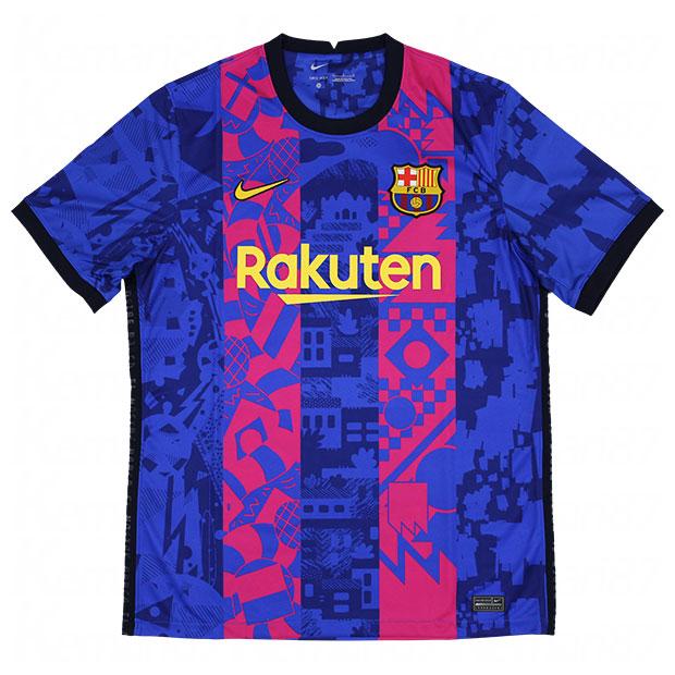 FCバルセロナ 21-22 3rd 半袖レプリカユニフォーム  db5896-406
