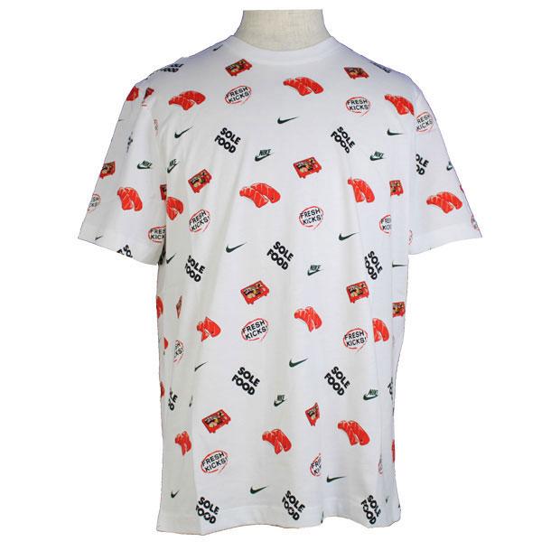 NSW フード AOP #4 半袖Tシャツ  dc9186-100 ホワイト