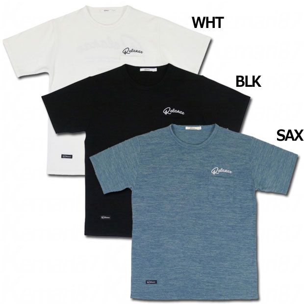 スラブポケット半袖Tシャツ   dpz-rx124