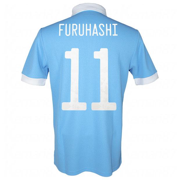 サッカー日本代表 100周年アニバーサリー オーセンティック ユニフォーム 半袖  ekq79-furuhashi